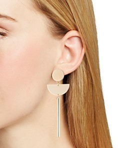 Trina Turk - Assymmetrical Drop Earrings