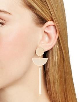 Trina Turk - Assymmetrical Drop Earrings