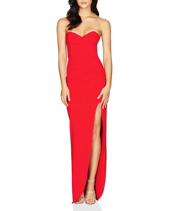 Nookie - Bisous Strapless Sweetheart Gown