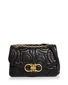 Salvatore Ferragamo - Large Quilted Leather Shoulder Bag