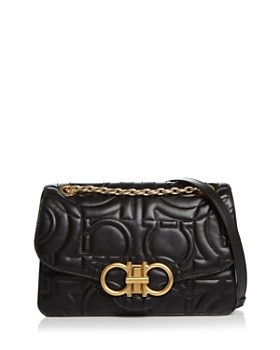 8e539838f5 Salvatore Ferragamo - Large Quilted Leather Shoulder Bag ...