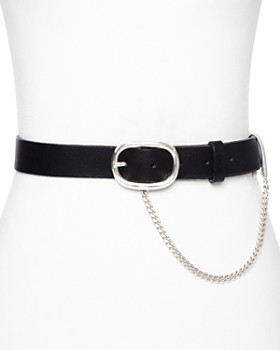 rag & bone/JEAN - Chain Detail Boyfriend Belt