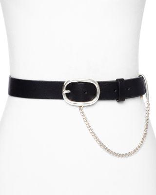 Chain Detail Boyfriend Belt by Bloomingdales