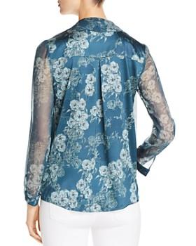 Elie Tahari - Jurnee Floral Silk Blouse