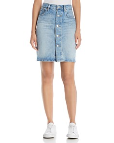 Levi's - Mom Denim Skirt in Desperate Measures