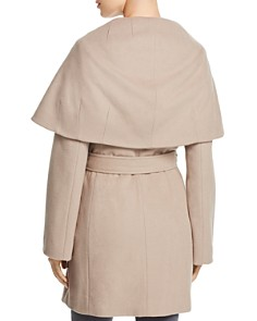 T Tahari - Marla Oversized Shawl Collar Coat