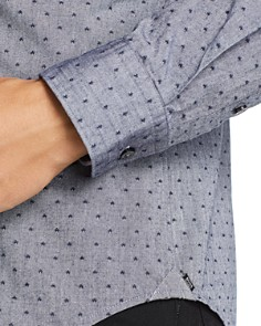 BOSS - Ronni Dobby-Dot Slim Fit Shirt