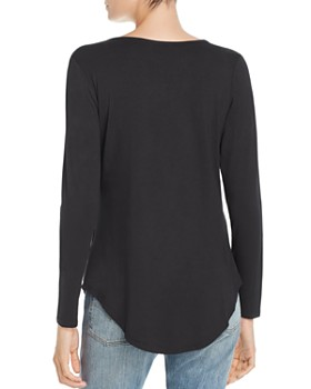 Alison Andrews - Twisted V-Neck Top