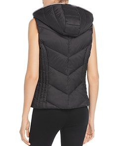Marc New York - Layered Front Hooded Puffer Vest