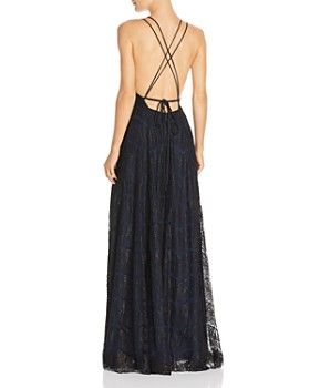 Fame and Partners - Austin Lace Gown