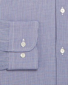 Armani - Micro Check Modern Fit Dress Shirt