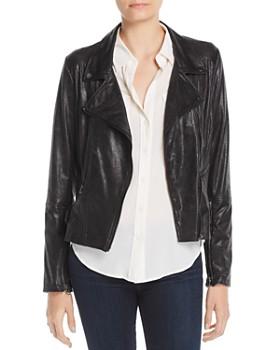 Lyssé - Mission Faux-Leather Moto Jacket