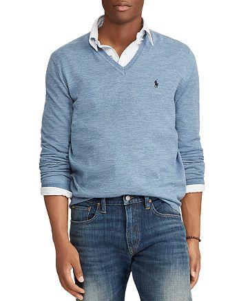 acce08ee7 Polo Ralph Lauren - Merino Wool V-Neck Sweater