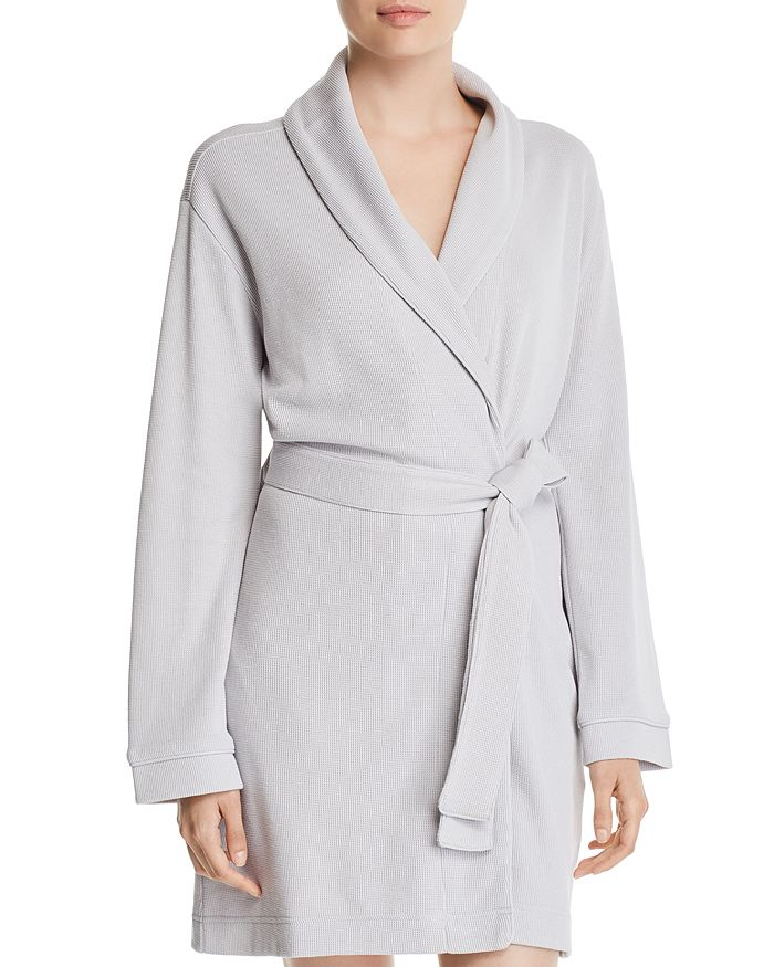 ff7cd355ea Hudson Park Collection Pique Knit Bath Robe - 100% Exclusive ...