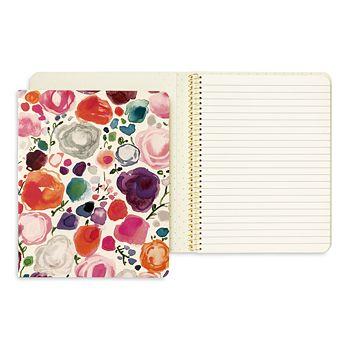 kate spade new york - Floral Concealed Spiral Notebook