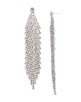 AQUA - Pavé Chandelier Earrings - 100% Exclusive