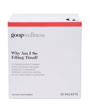GOOP WHY AM I SO EFFING TIRED? DIETARY SUPPLEMENT REGIMEN, SET OF 30