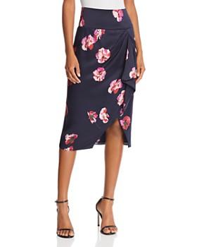 Joie - Alphina Floral Silk Skirt