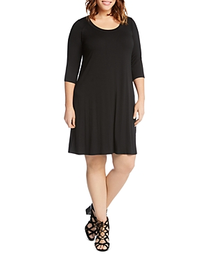 Karen Kane Plus A-Line Dress