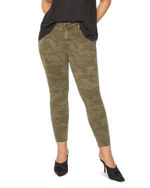 Sanctuary Curve Social Standard Skinny Jeans in Prosperity Camo 3081863