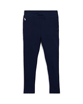 Ralph Lauren - Girls' French Terry Sweatpants - Little Kid, Big Kid