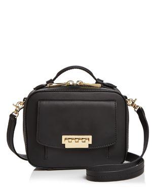 Zac Zac Posen Earthette Small Leather Box Bag