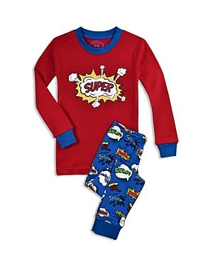 Sara's Prints Boys' Super Kid Pajama Shirt & Pants Set - Little Kid