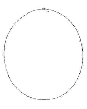 John Hardy Sterling Silver Classic Chain Box Chain Necklace, 26