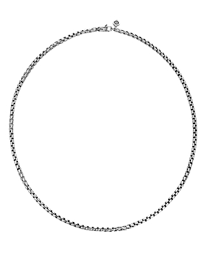 John Hardy Sterling Silver Classic Chain Woven Box Chain Necklace, 26-Jewelry & Accessories