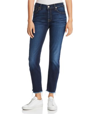 Roxanne Ankle Tapered Jeans In B(Air) Authentic Fate by 7 For All Mankind