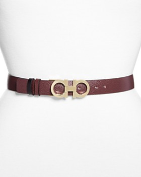 Salvatore Ferragamo - Gancini Leather Belt
