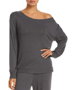 Cosabella Alessandra Rib Knit Long-Sleeve Top