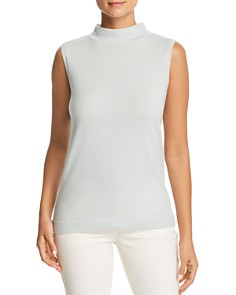 Lafayette 148 New York - Cashmere Mock Neck Sweater