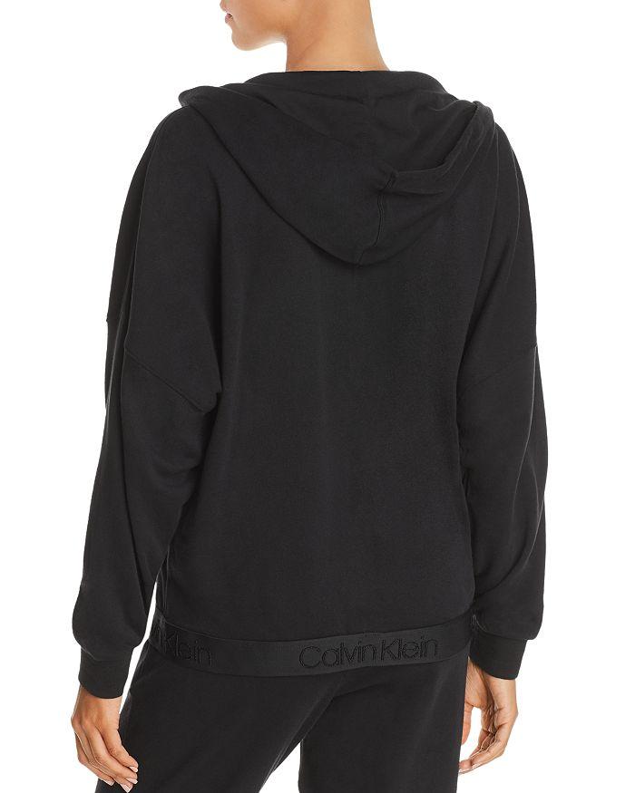 c96ead7321 Calvin Klein - Tonal Logo Lounge Full Zip Hoodie