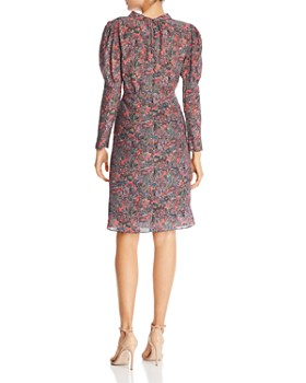 Rebecca Taylor - Paisley Puff-Sleeve Dress
