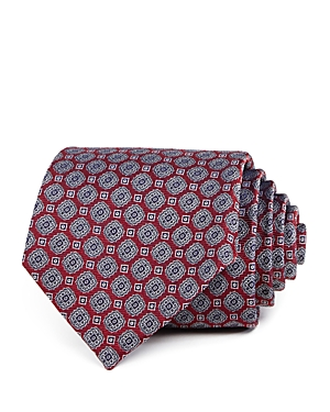 The Men's Store at Bloomingdale's Geometric Medallion Silk Classic Tie - 100% Exclusive