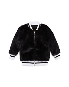 Sovereign Code - Girls' Faux-Fur Bomber Jacket - Little Kid