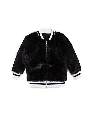 Sovereign Code Girls' Faux-Fur Bomber Jacket - Little Kid