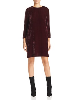 Marella - Elba Velvet Shift Dress