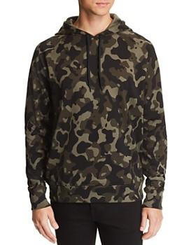 HUGO - Dayfun Camouflage-Print Hooded Sweatshirt
