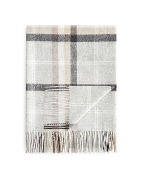 Fraas - Multi Plaid Cashmere Throw - 100% Exclusive