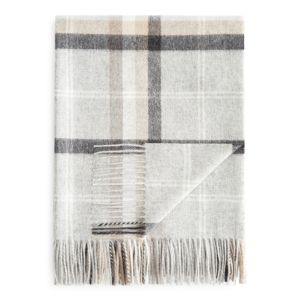 Fraas Multi Plaid Cashmere Throw - 100% Exclusive