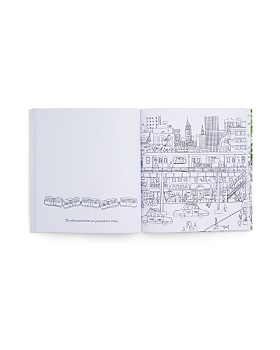 Michael Storrings - Seasons of New York Coloring Book
