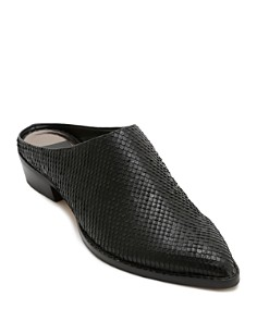 Dolce Vita - Women's Aven Snake-Embossed Leather Mules