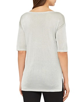 REISS - Lilea Metallic Top
