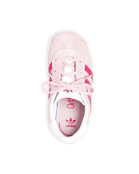 Adidas - Unisex Gazelle Suede Lace Up Sneakers - Walker, Toddler