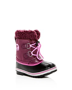Sorel - Girls' Yoot Pac Cold Weather Boots - Toddler, Little Kid