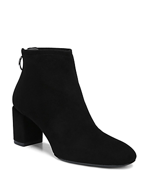 VIA SPIGA WOMEN'S NOEL SUEDE BLOCK HEEL BOOTIES - 100% EXCLUSIVE