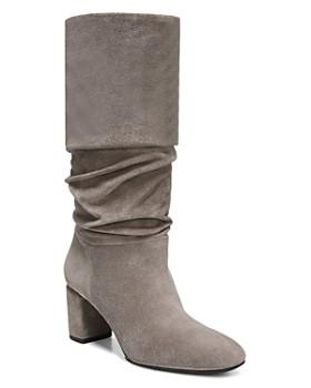 Via Spiga - Women's Naren Suede Tall Slouch Boots