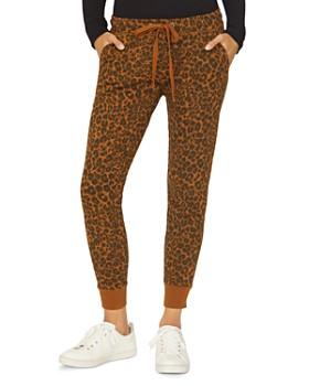 Sanctuary - Peace Brigade Leopard Jogger Pants